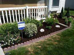 Flowers For Flower Beds by Exterior Development With Flower Bed Ideas Front Of House