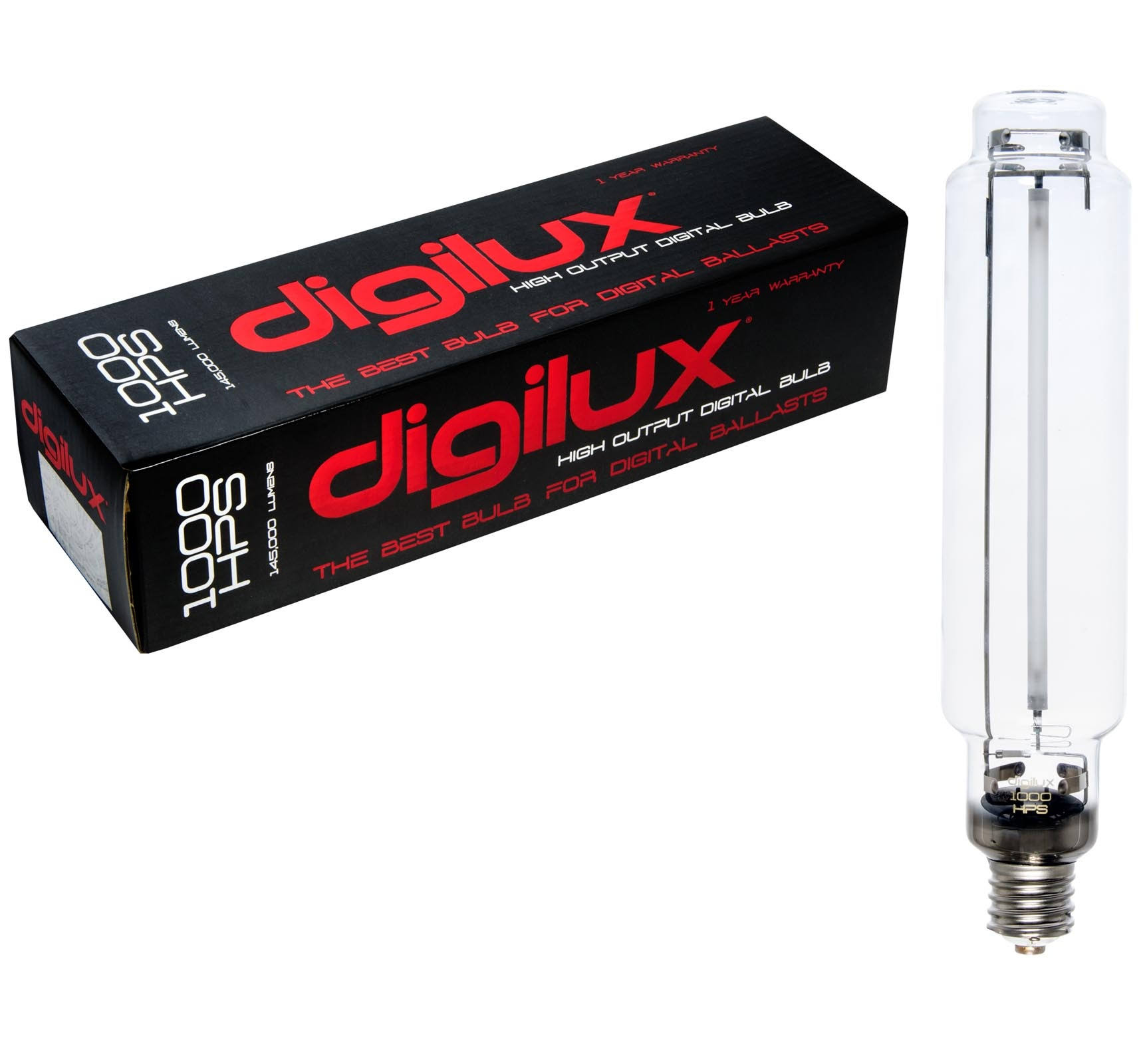 Digilux HPS Digital Hydroponics Grow Light Bulb - 1000W