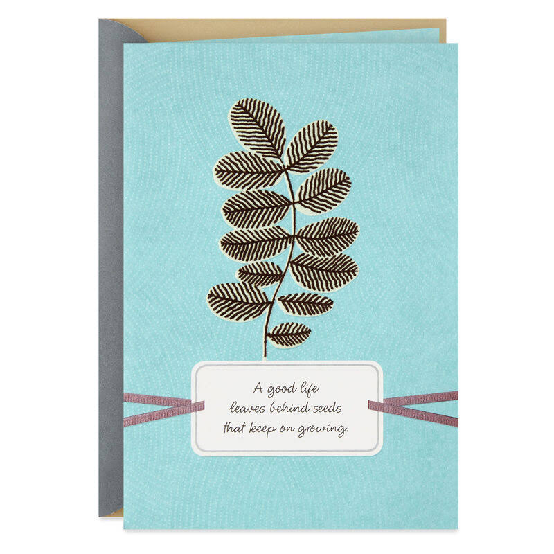 Your Father's Legacy in You Sympathy Card