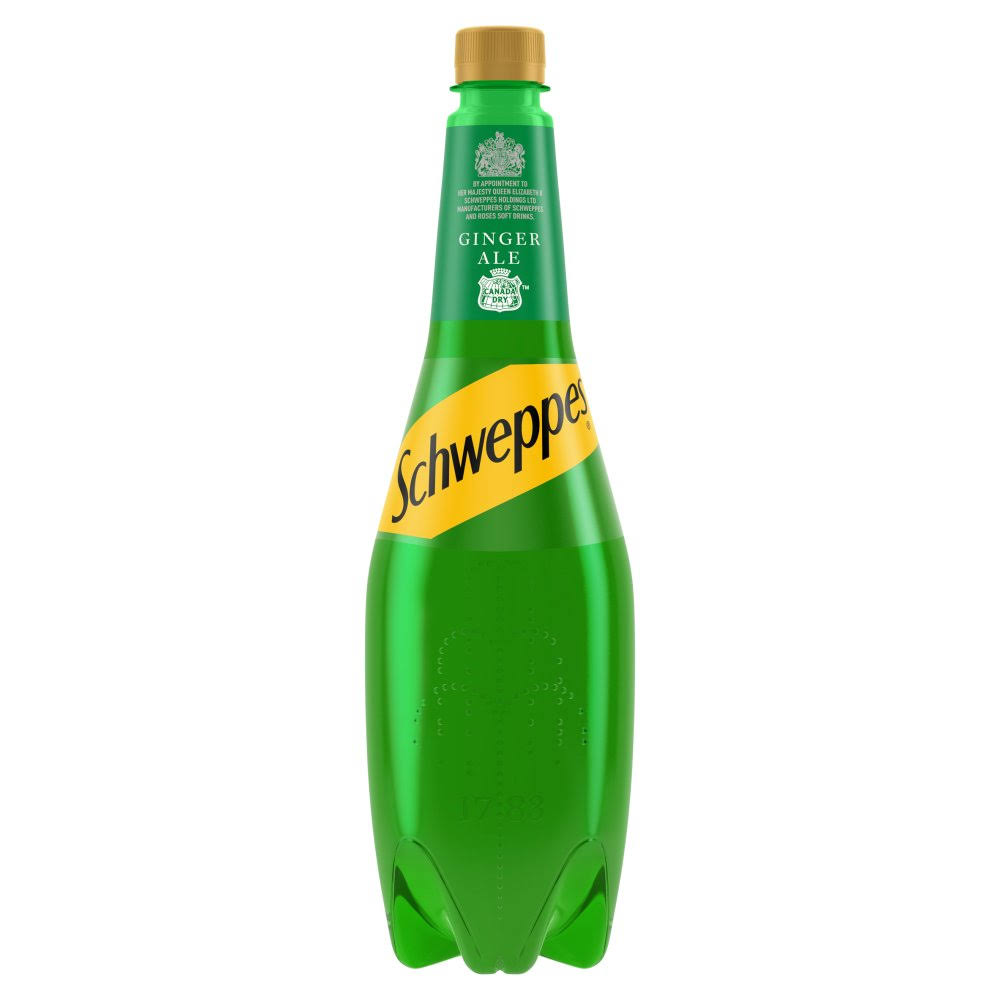 Schweppes Canada Dry Ginger Ale - 1l