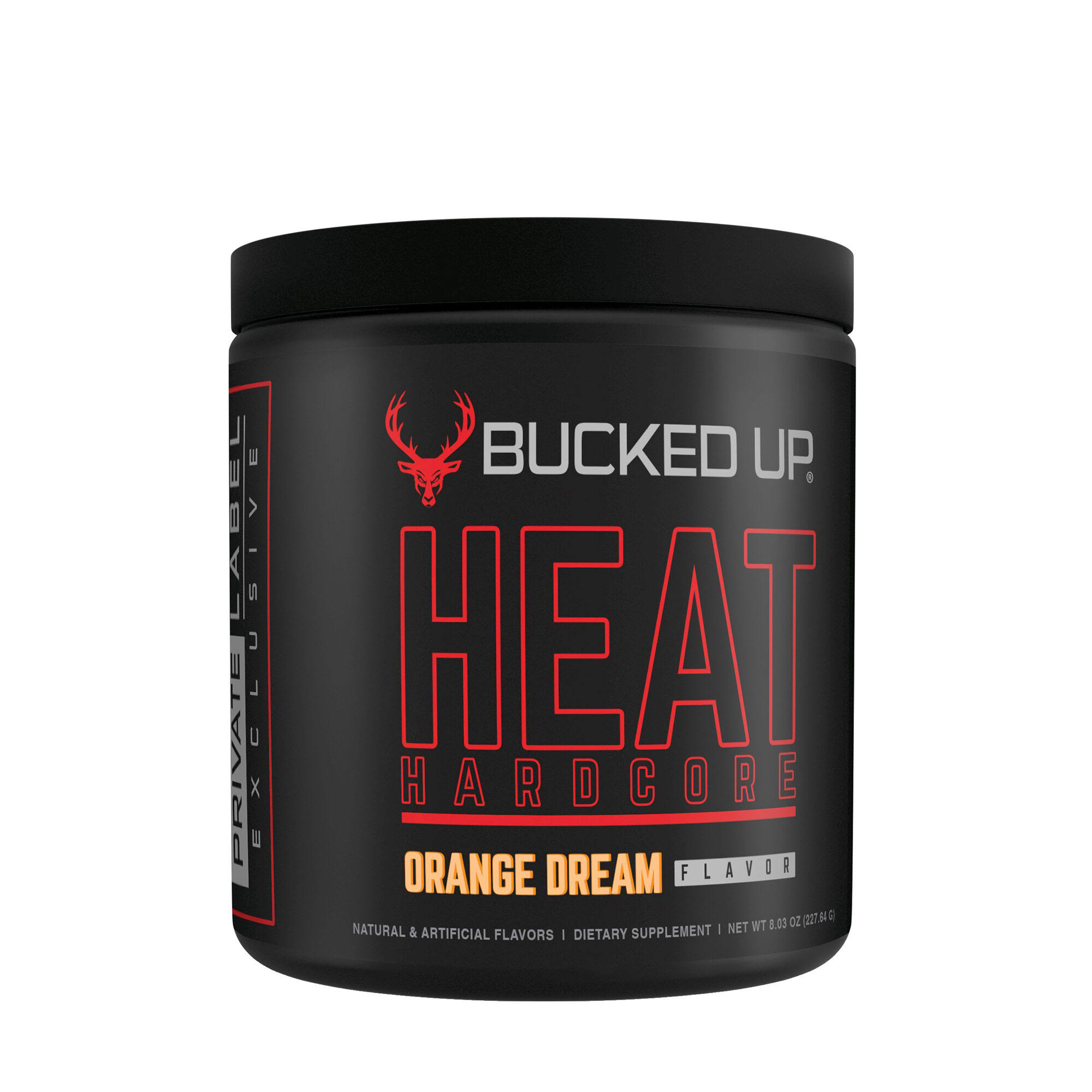 Bucked Up Heat Hardcore - Orange Dream Flavor