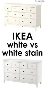 Hemnes 6 Drawer Dresser Grey Brown by Difference Between Ikea White And White Stain