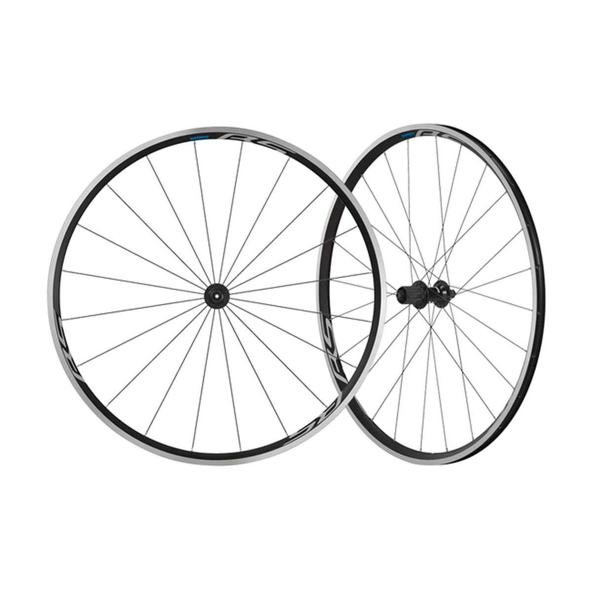 Shimano WH-RS100 Clincher Road Bicycle Wheelset - EWHRS100FREB
