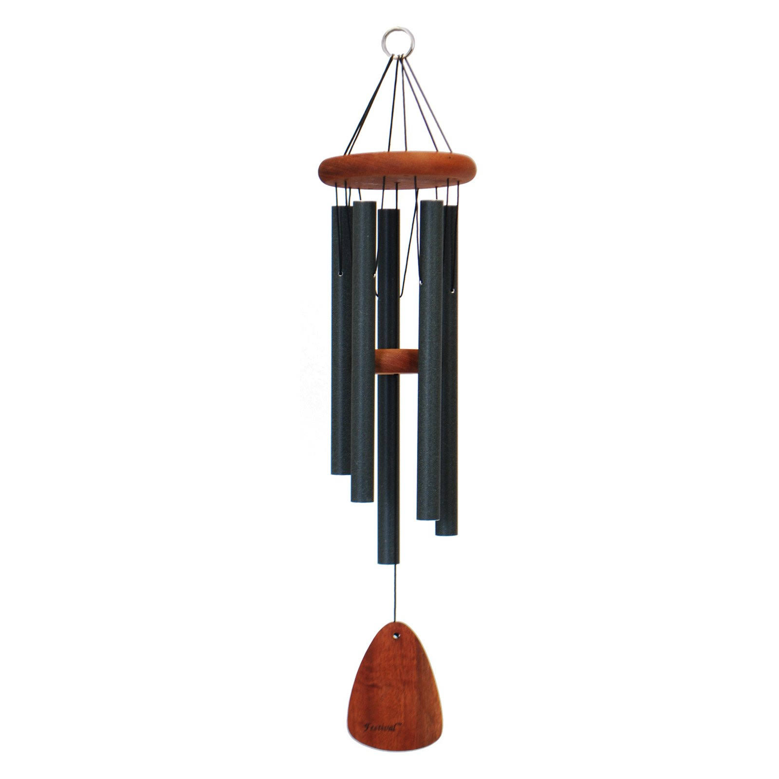 Festival 28 in. Wind Chime, Green