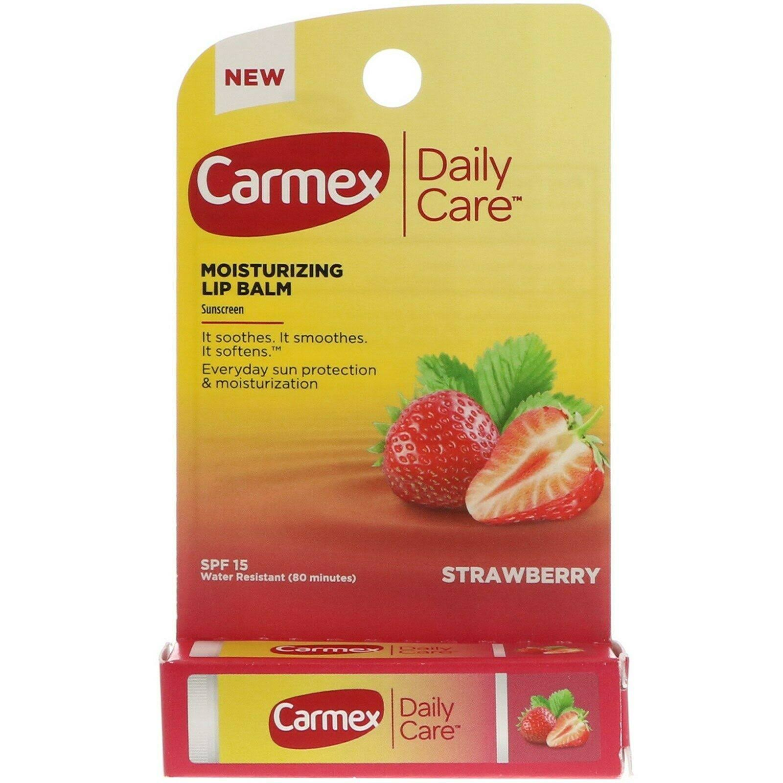 Carmex Daily Care Lip Balm - Strawberry
