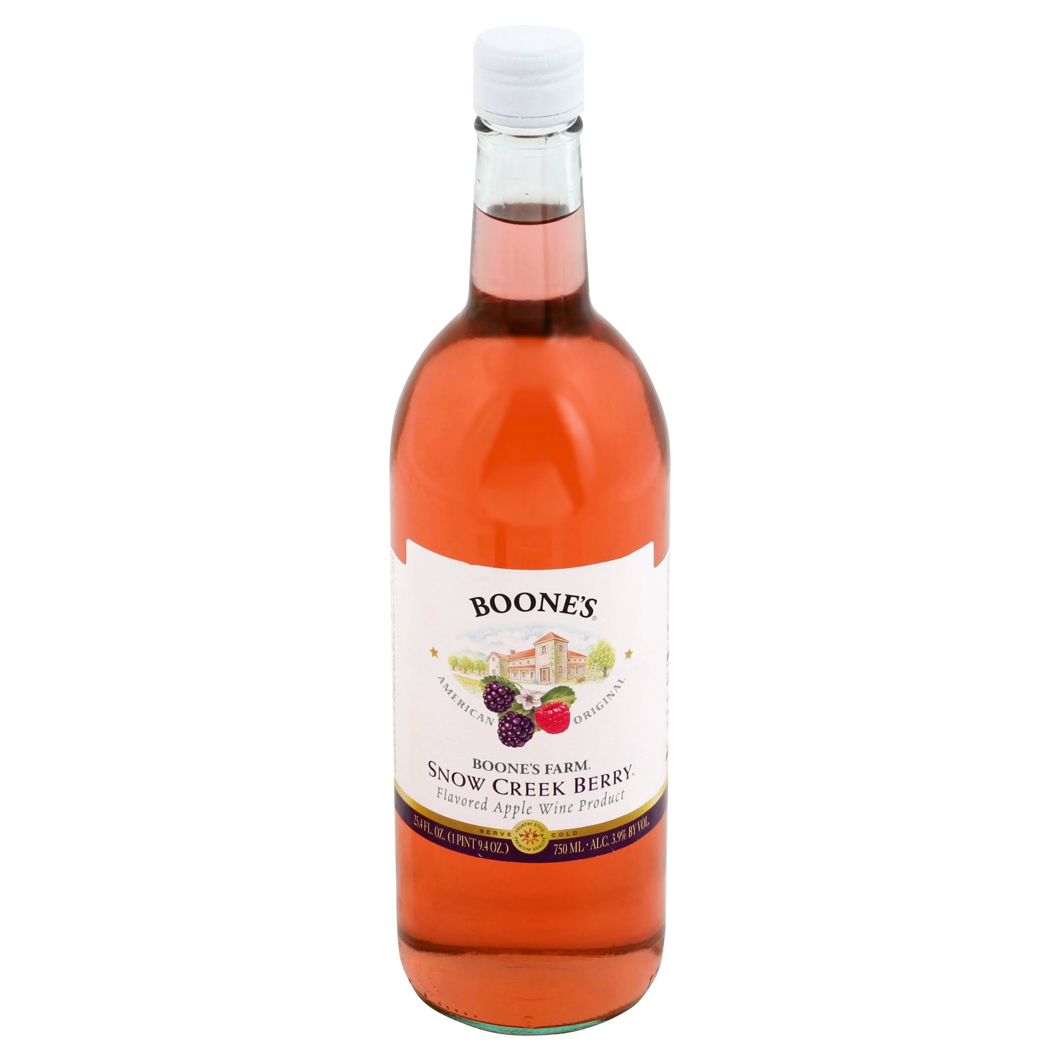 Boone's Farm Apple Wine Product - Snow Creek Berry Flavored, 25.40floz