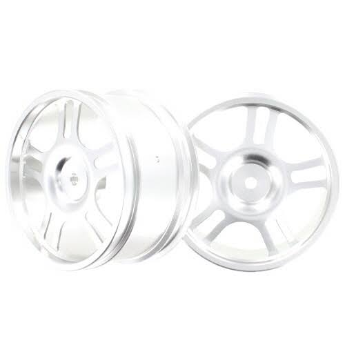 Redcat Racing 106672 Aluminum Wheels Silver 2pcs