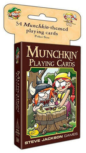 Steve Jackson Games Munchkin Playing Card Game