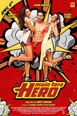 Main Tera Hero 2014 720p Hindi Movie Download Watch Online DVDRip