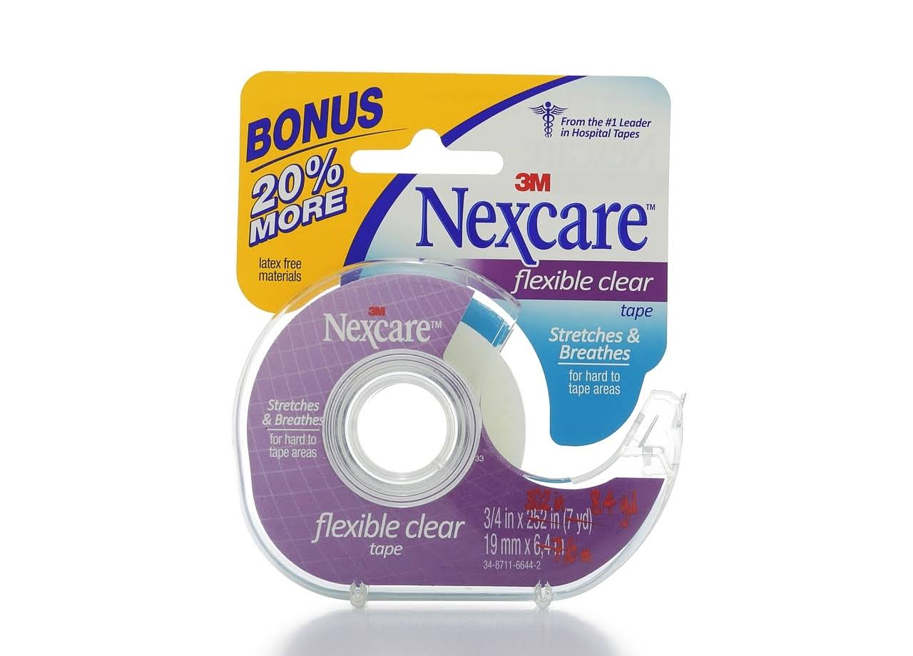 Nexcare First Aid Flexible Tape - Clear