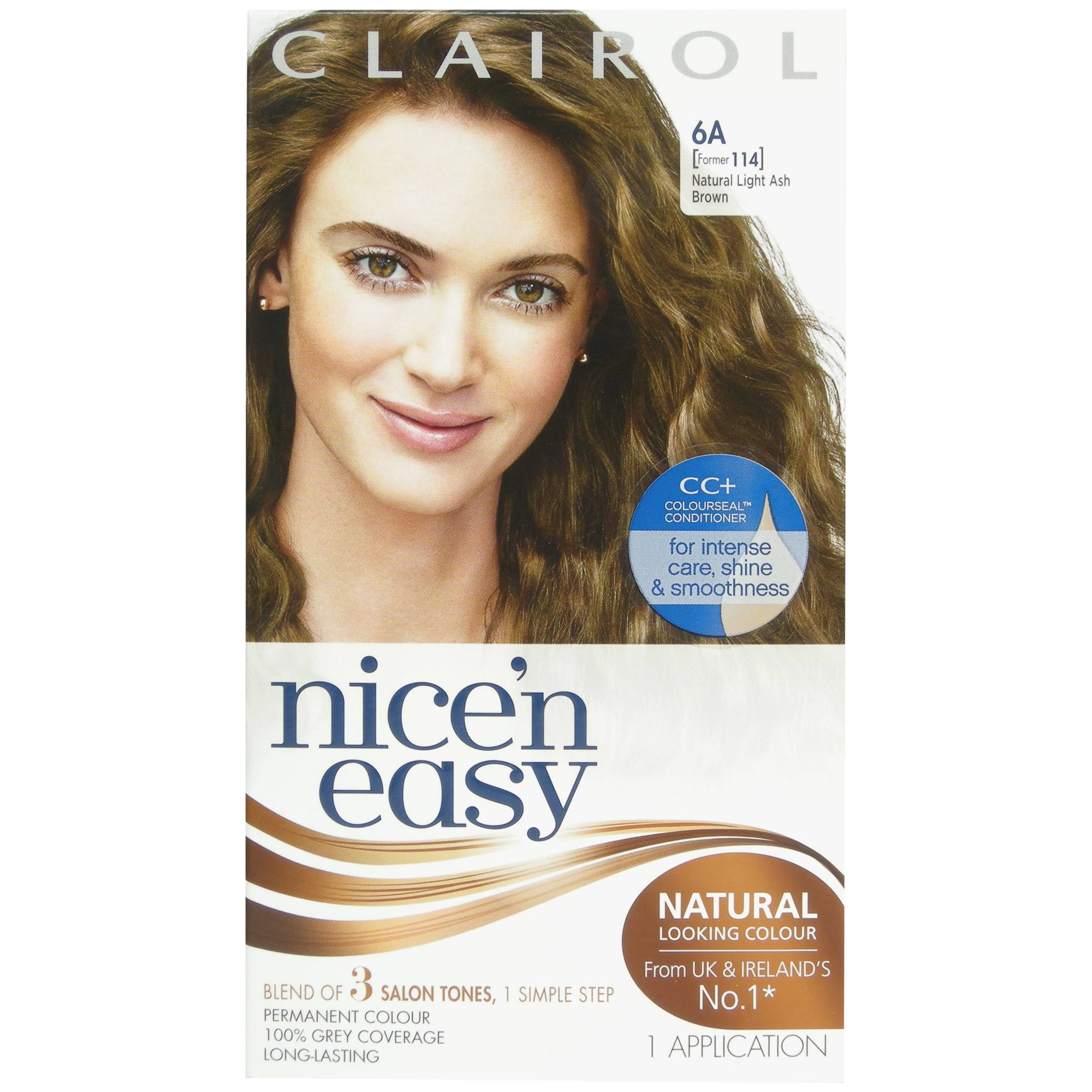 Clairol Nice & Easy Permanent Hair Dye - 6A Natural Light Ash Brown
