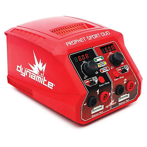Dynamite C2025 Prophet Sport Duo 50W x 2 AC Battery Charger US