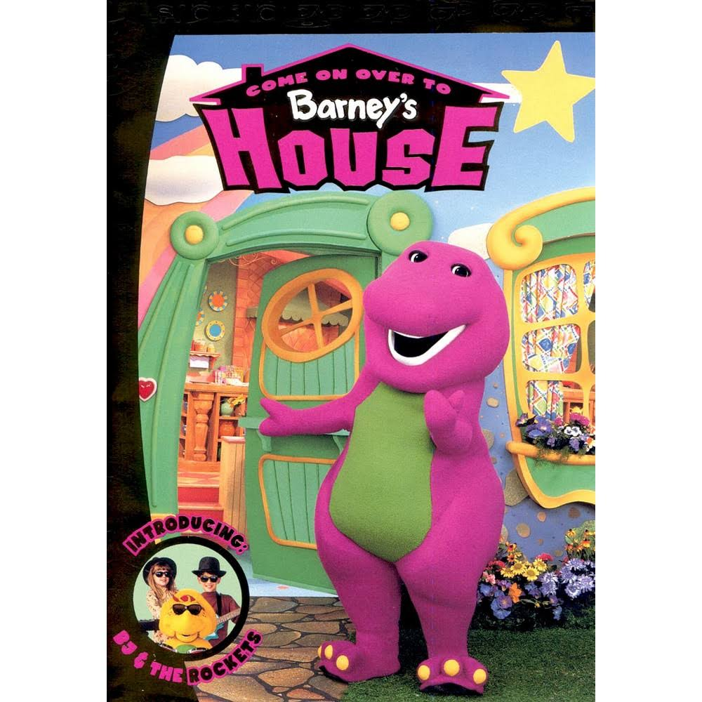 Come on Over to Barney's House DVD