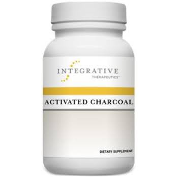 Integrative Therapeutics Activated Charcoal Dietary Supplement - 560mg, 100ct