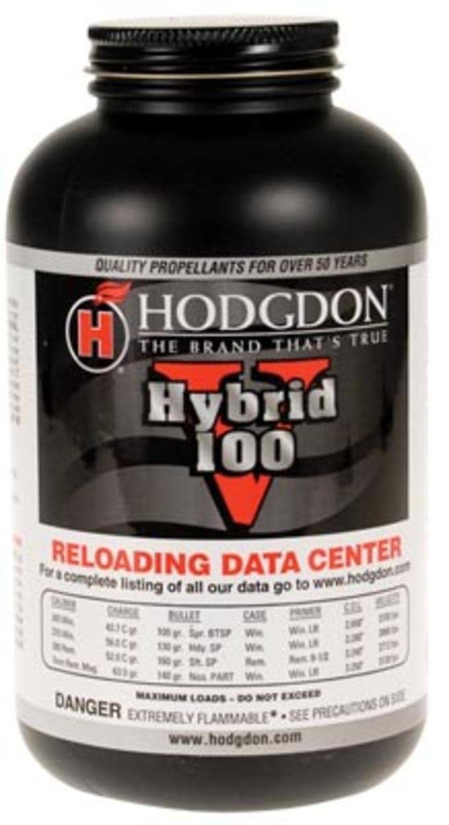 Hodgdon Powder Hybrid 100V 1lb Can