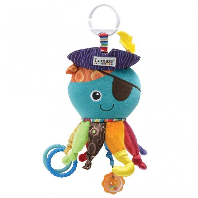 Tomy Lamaze Captain Calamari the Octopus Pirate Toy
