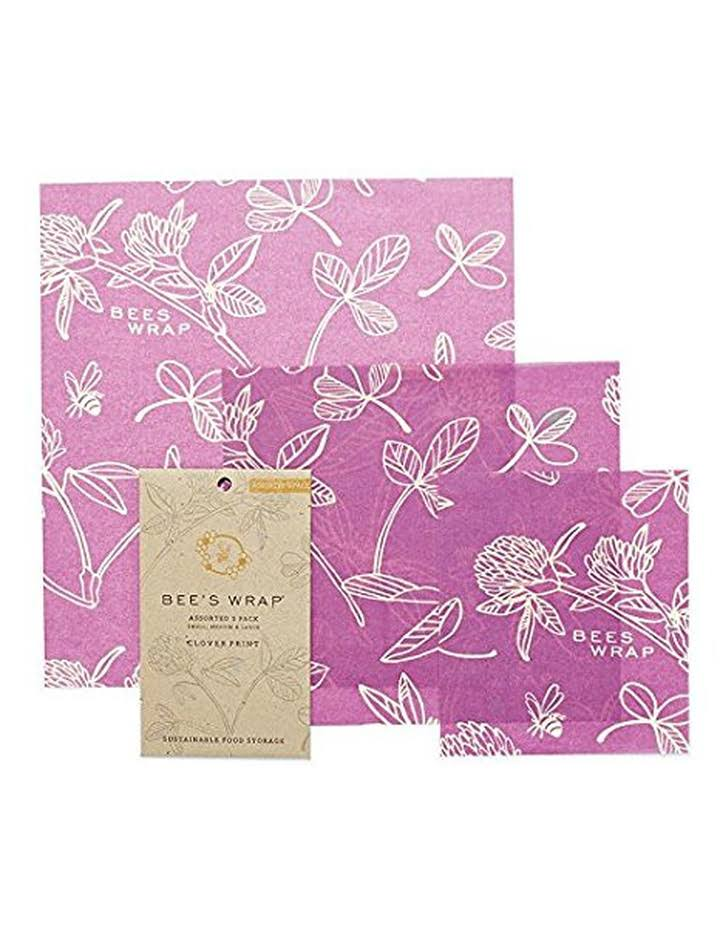 Bee's Wrap Assorted Reusable Food Wraps - 3 pack