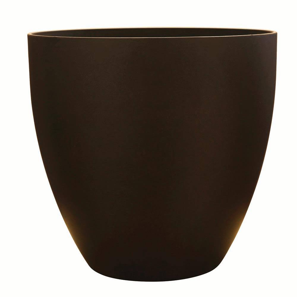 Southern Patio Egg Planter - Coffee, 9in