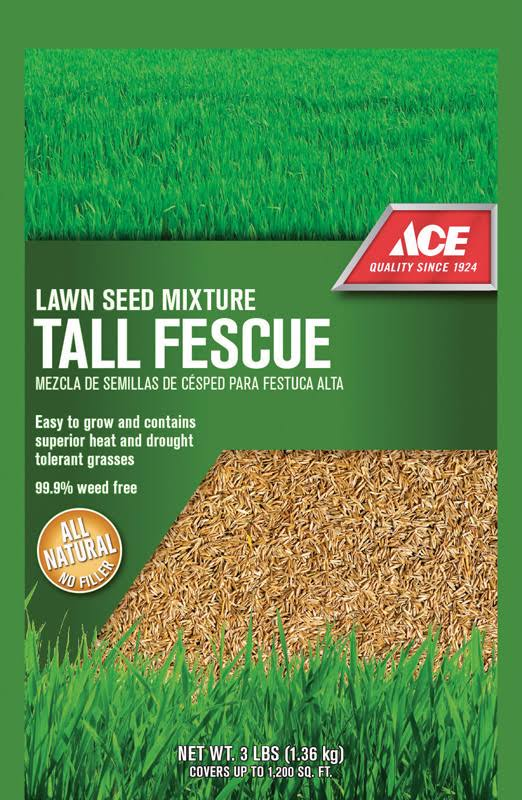 Ace Tall Fescue Lawn Seed Mixture