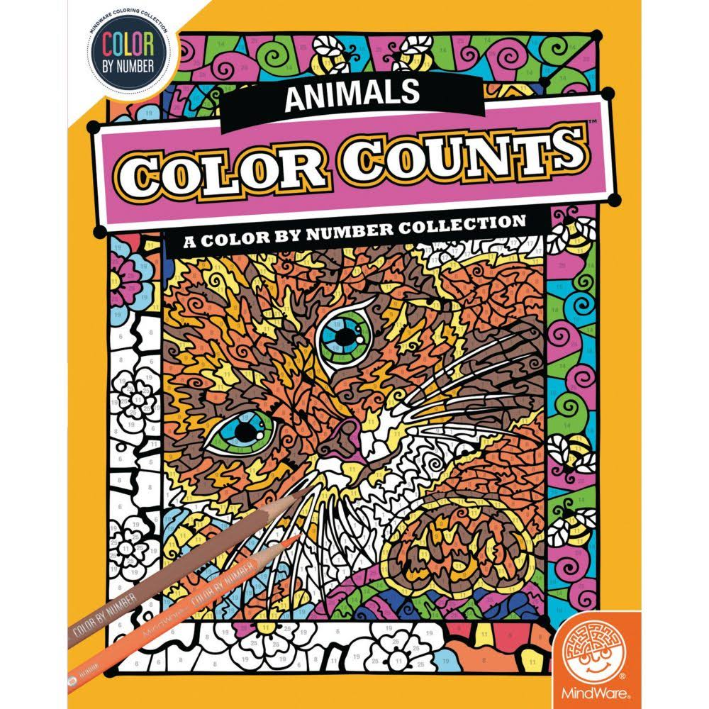 MindWare Color Counts: Animals Color by Number