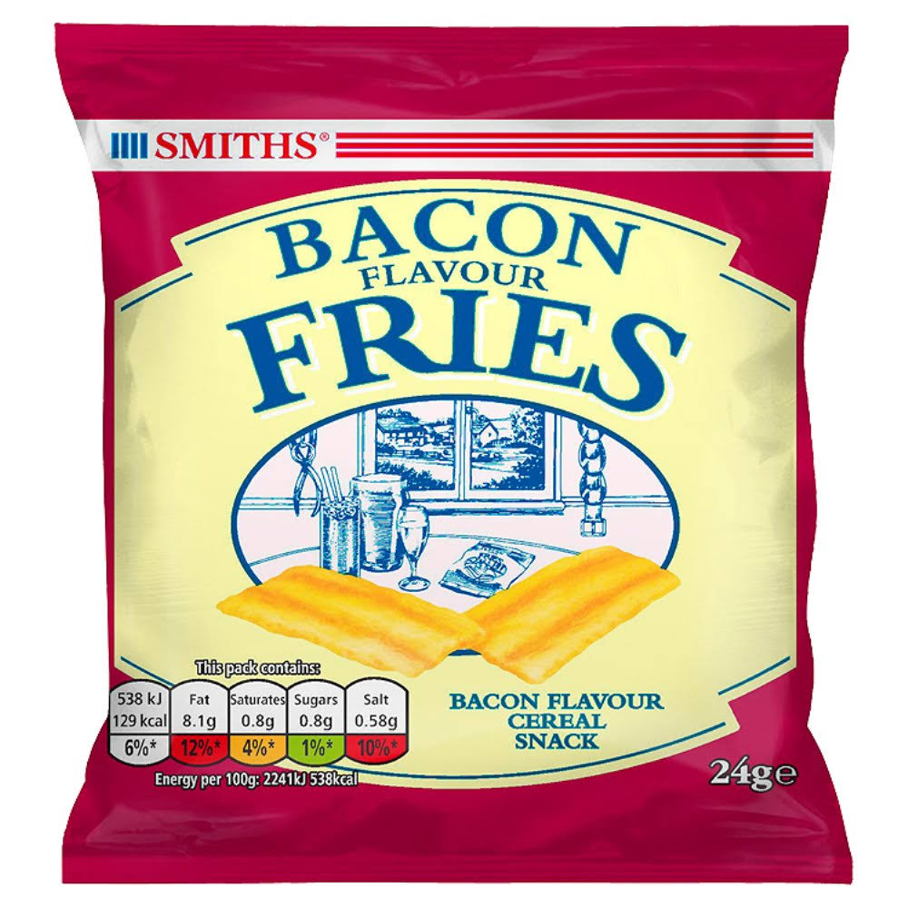 Smiths Bacon Snacks - 24g