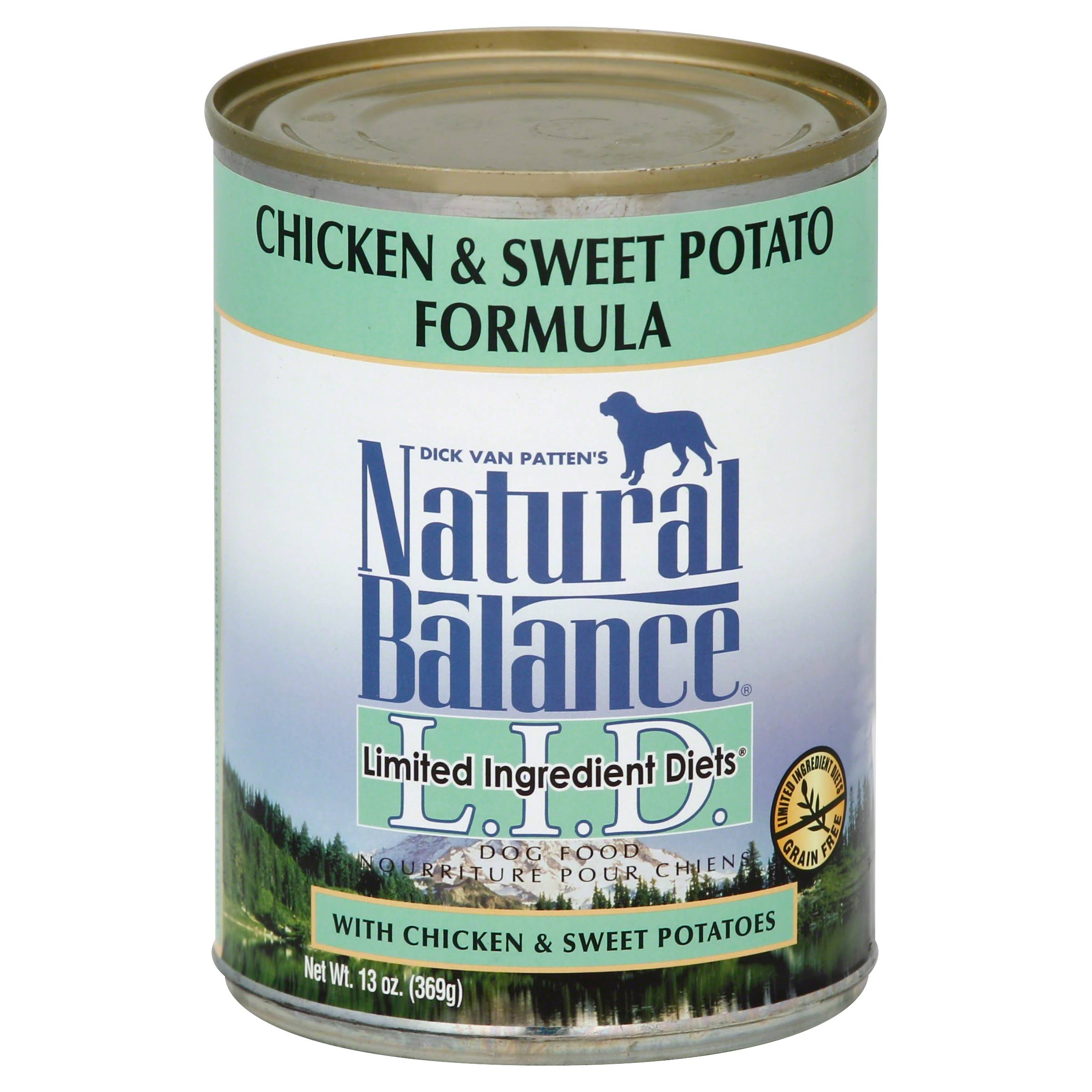 Natural Balance Limited Ingredient Diet Dog Food - Chicken and Sweet Potato