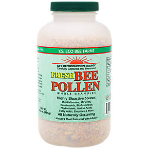 Y.S. Organic Bee Farms Fresh Bee Pollen Whole Granules - 16oz