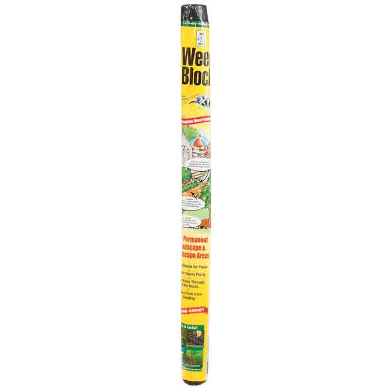 Easy Gardener Weedblock Fabric - 3' x 25', Black