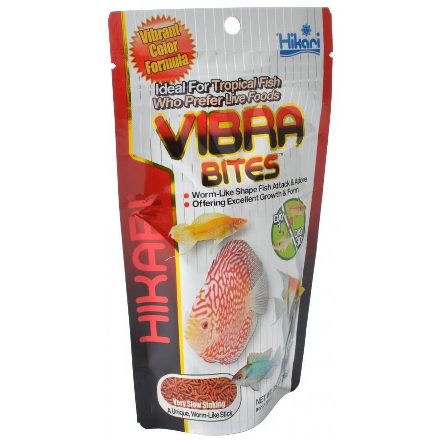 Hikari Vibra Bites Tropical Fish Food - 2.57 oz