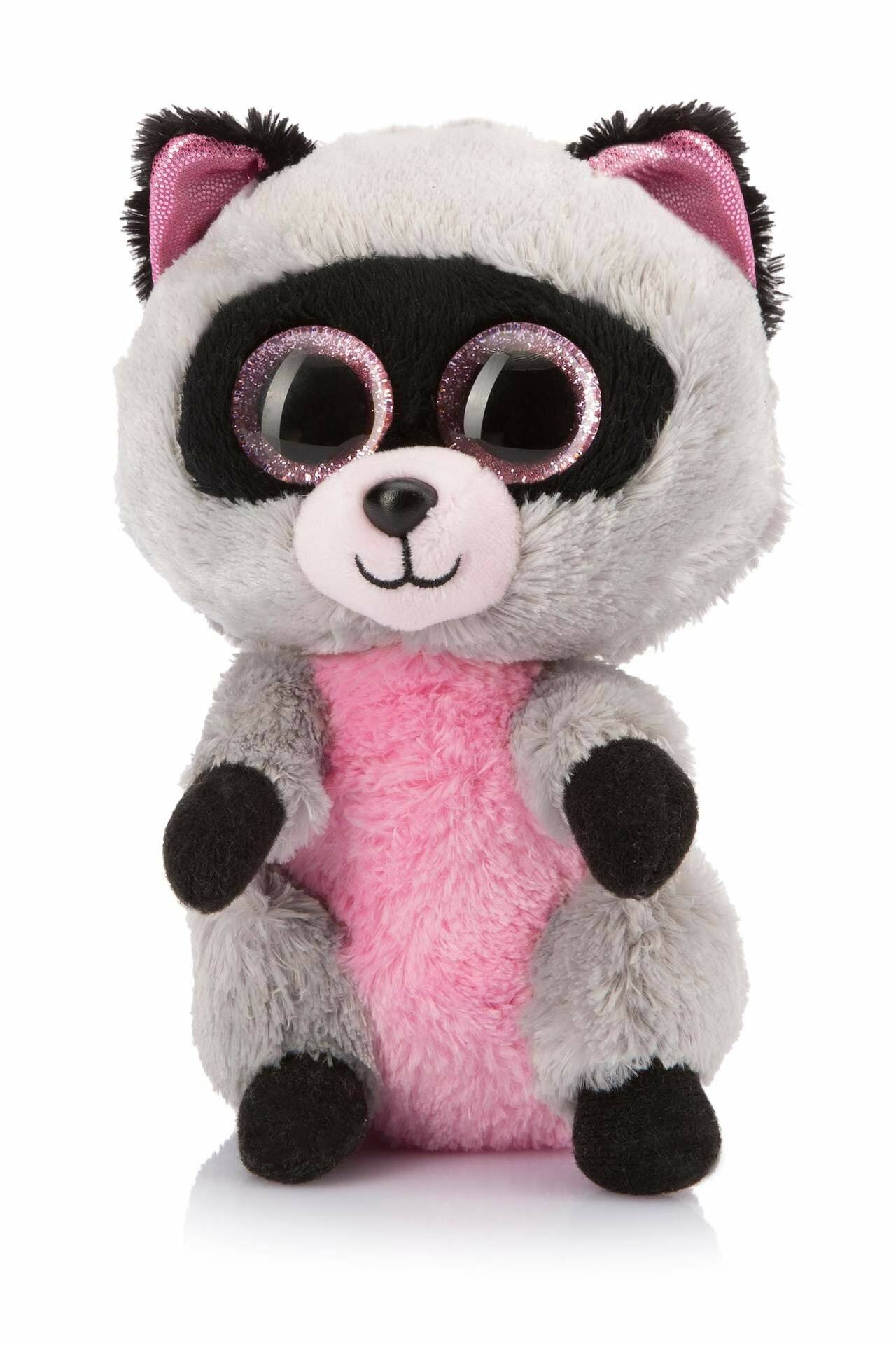Ty Beanie Boo's Rocco the Raccoon Soft Toy - 15cm