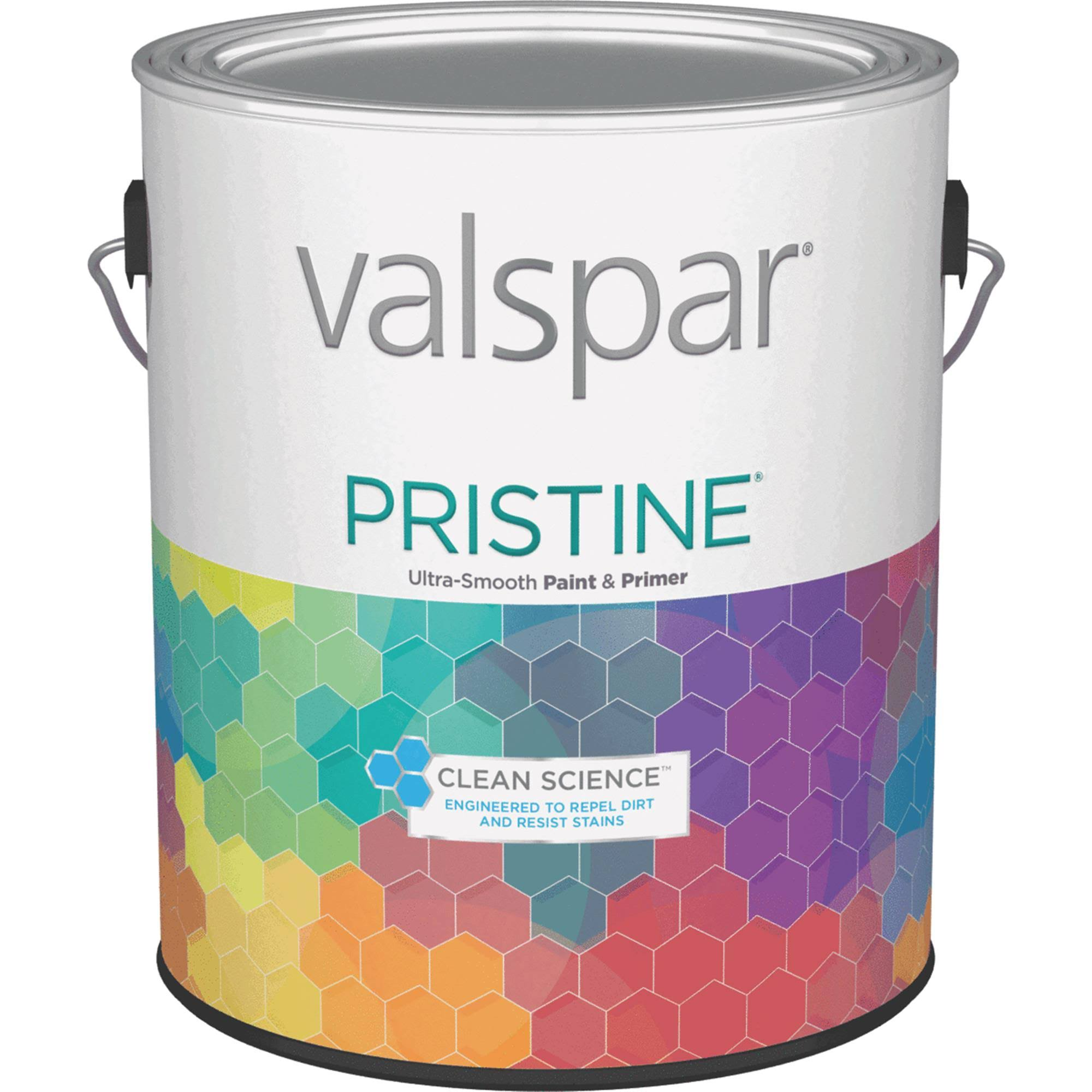 Valspar Pristine Semi-Gloss Interior Wall Paint - 18568 Pastel Base, 3.72L