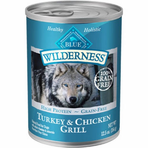 Blue Wilderness Food for Dogs - Turkey & Chicken Grill, 12.5oz
