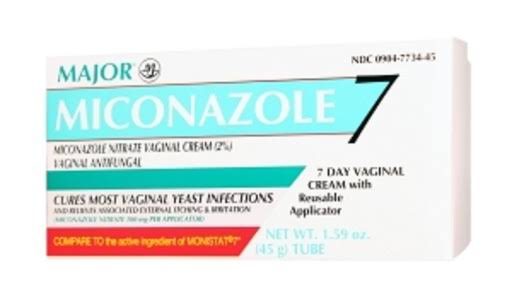Miconazole 7 Vaginal Cream - 1.59oz, 2pk