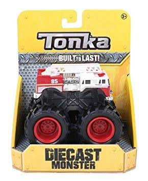 Tonka 1:55 Scale Diecast Monster Trucks - Extreme Extinguisher