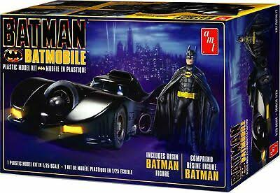Batman Batmobile + Resin Batman Figure - Scale 1:25