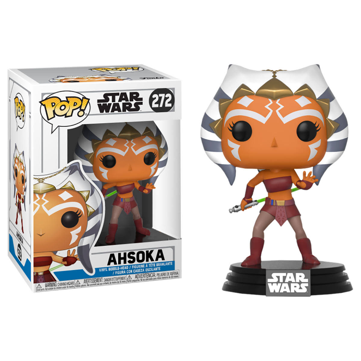 Star Wars Ahsoka Tano Exclu Pop Figure - 10cm
