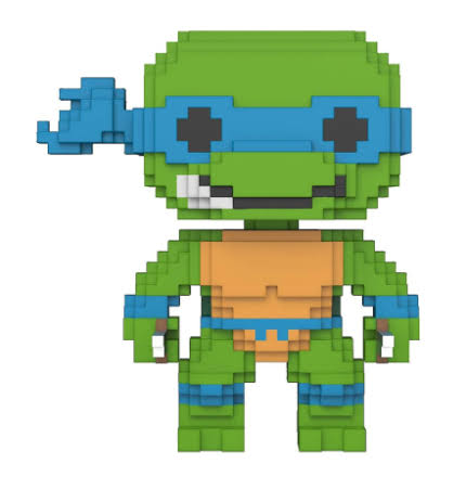 Funko Pop! Teenage Mutant Ninja Turtles 8-Bit Vinyl Figure - Leonardo