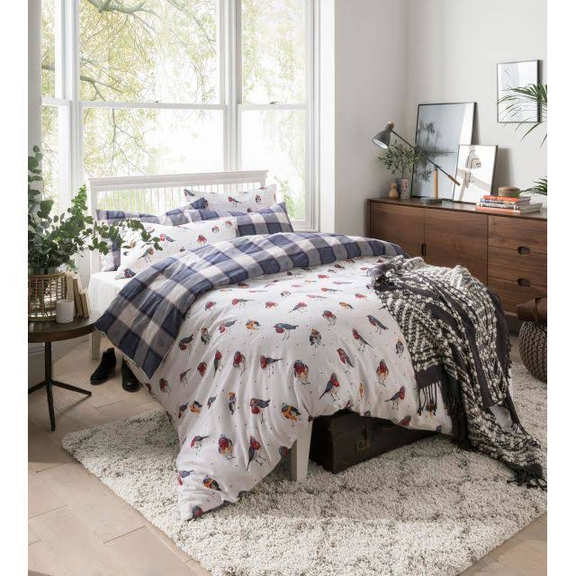 Fat Face Robins Duvet Set