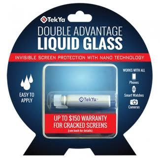 TekYa Double Advantage Universal Screen Protector - Clear