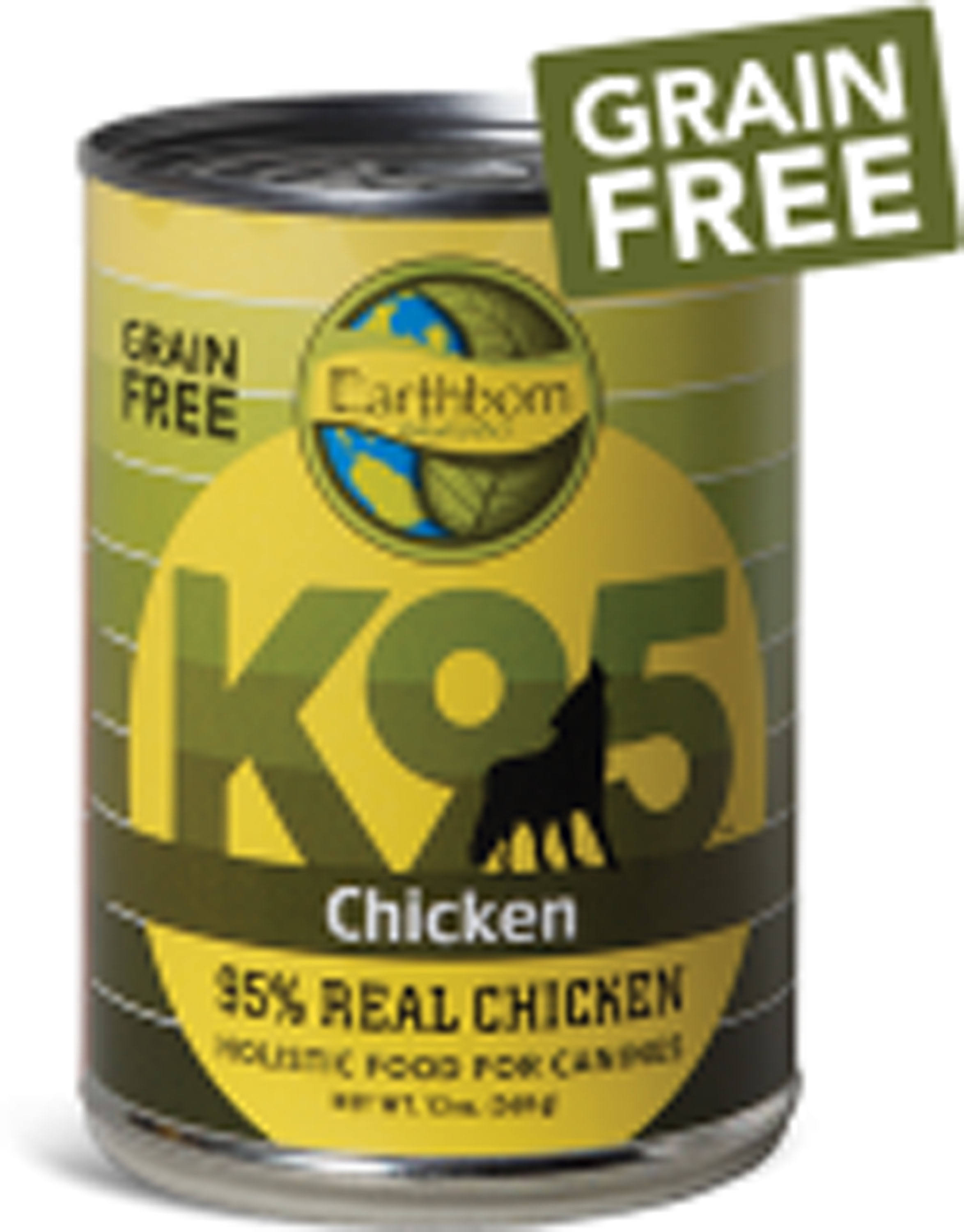 Earthborn Holistic K95 Grain Free Dog Food Chicken 13 oz