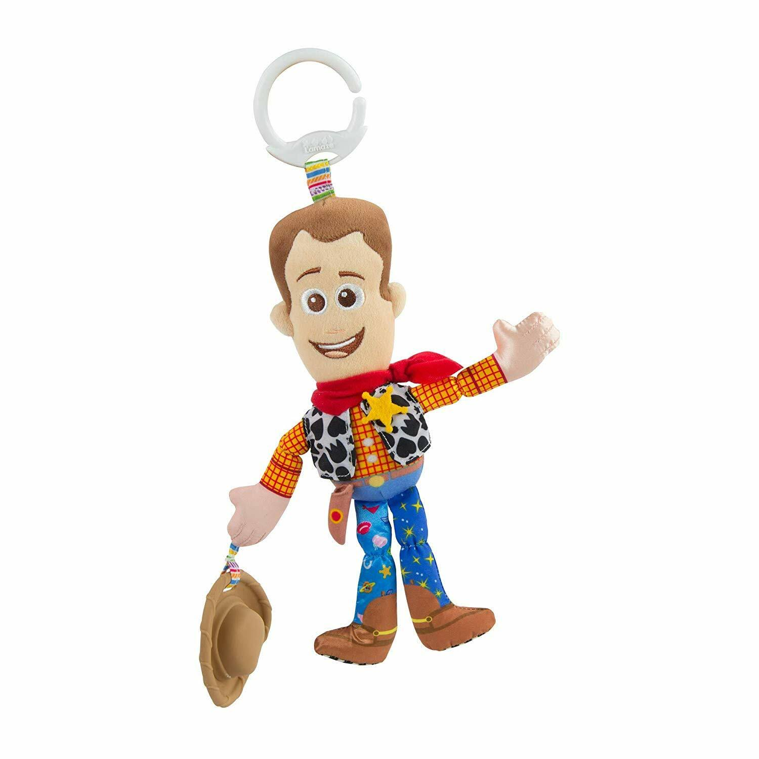 Lamaze Toy Story Clip and Go Woody