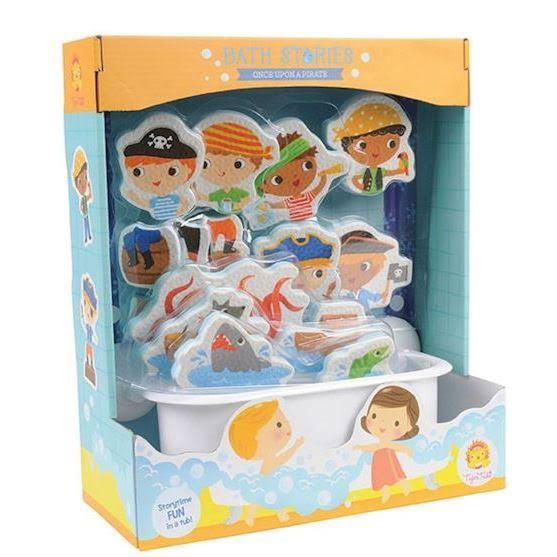 Schylling Pirate Bath Stories Bath Toy