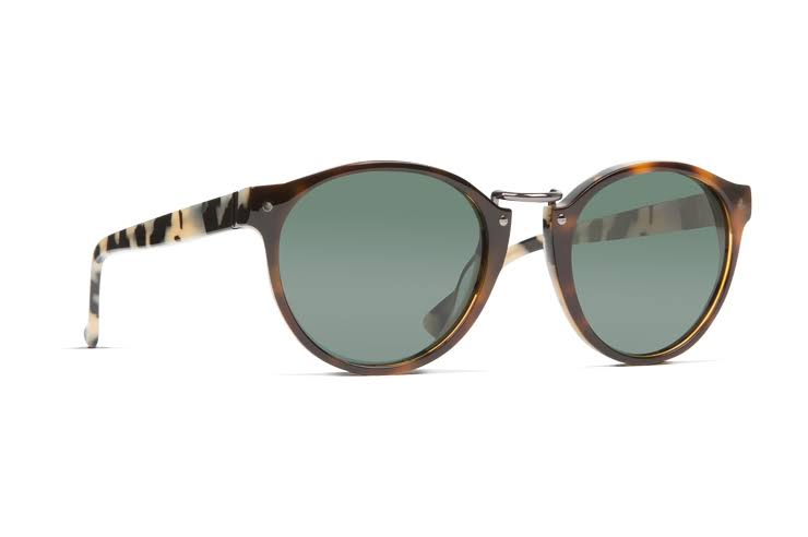 VonZipper Stax Sunglasses Double Tortoise/Vintage Grey, One Size