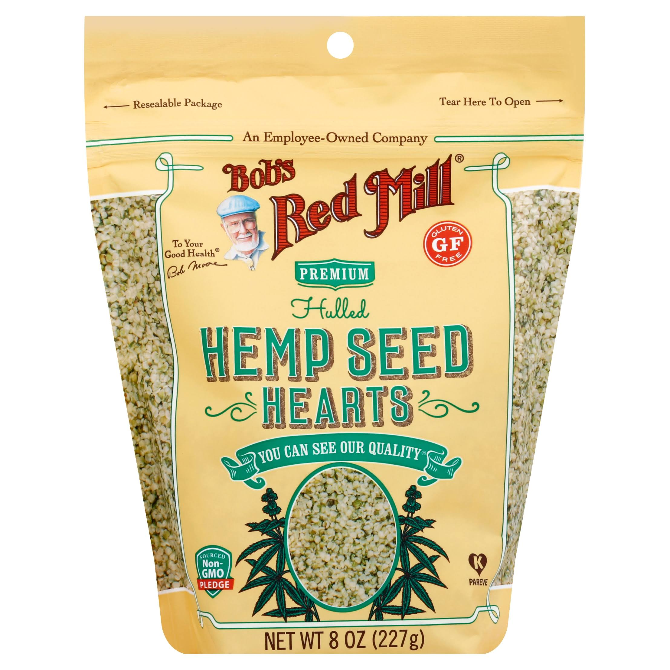 Bobs Red Mill Hemp Seed Hearts, Premium, Hulled - 8 oz