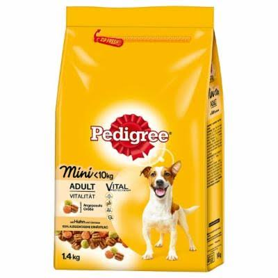 Pedigree Small Adult Dog Food - 1.4kg, with Chicken and Vegetables