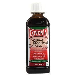 Covonia Original Bronchial Balsam Syrup - Troublesome Dry Coughs, 150ml