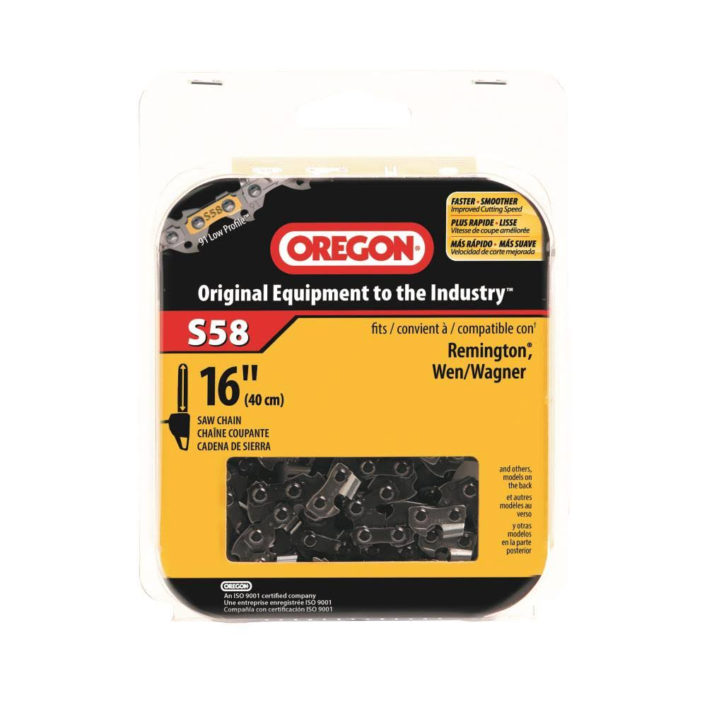 Oregon Cutting Systems S58 Chainsaw Chain - 16""