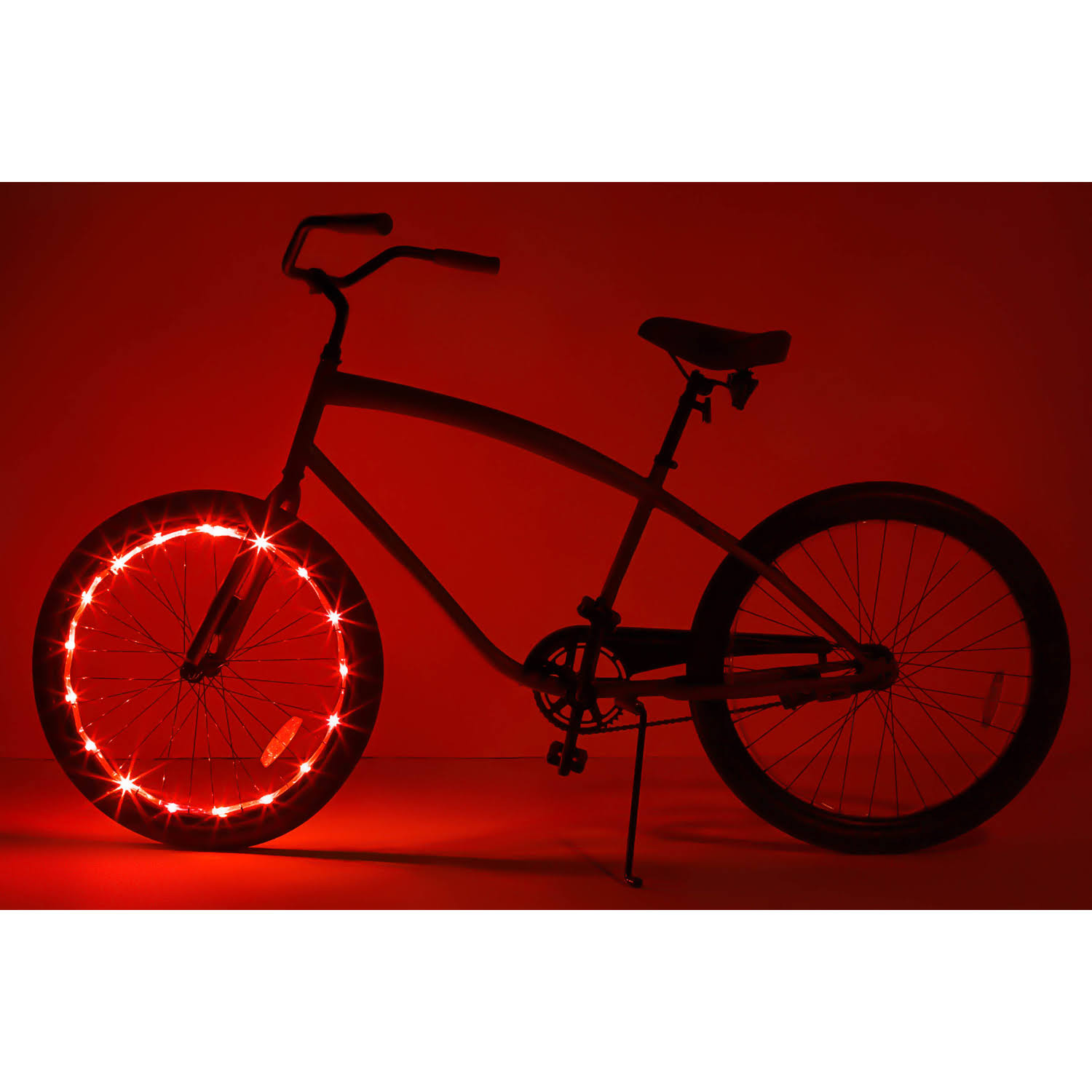 Brightz LTD Wheel LED Bicycle Accessory Light for 1 Red