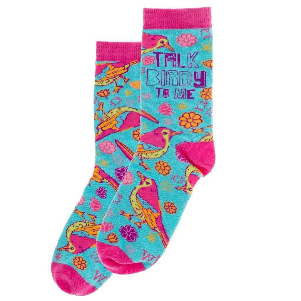 Wit! Ladies Socks Bird