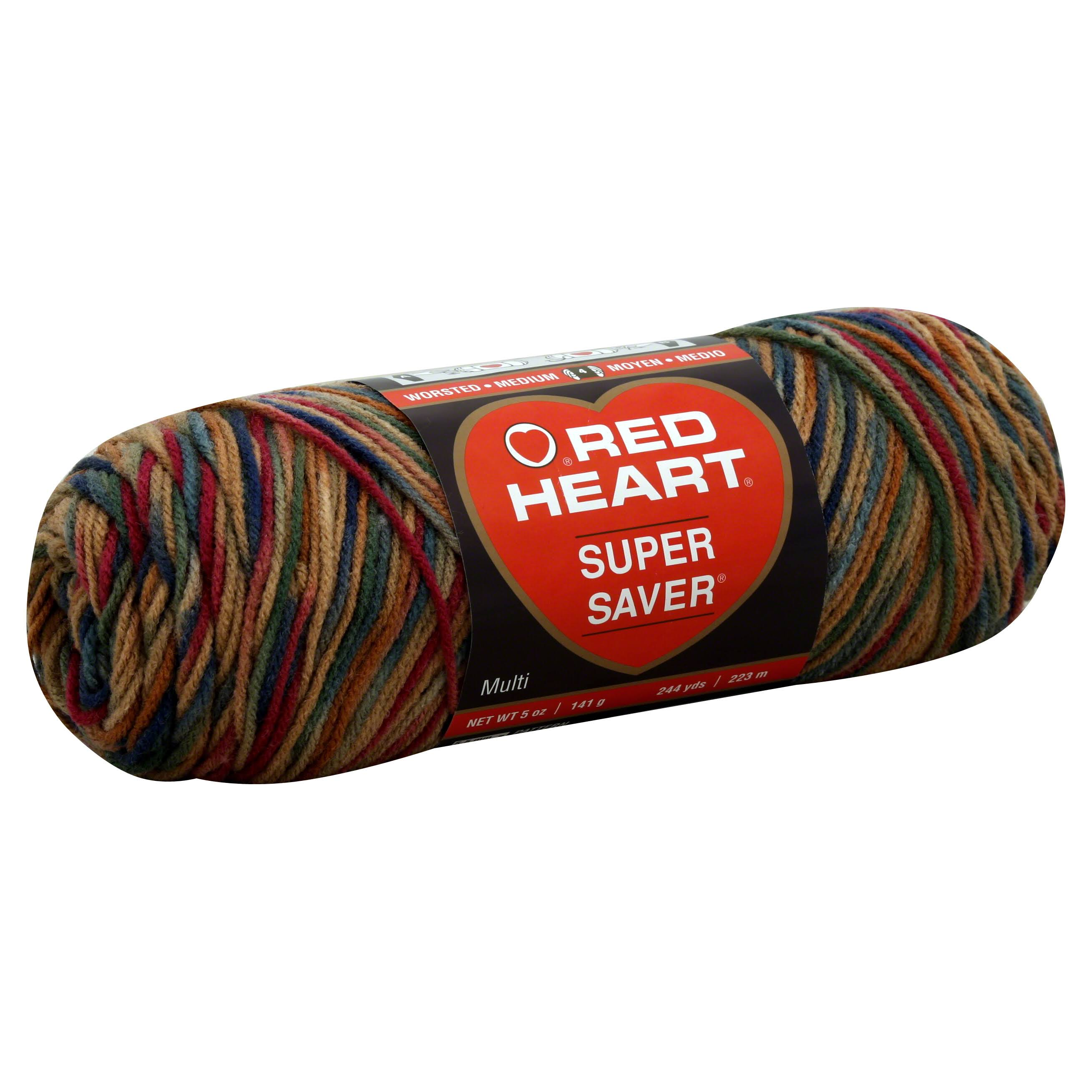 Red Heart Super Saver Yarn - #0303 Painted Desert, 236yds